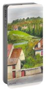 The French Village Of Billy In The Auvergne Portable Battery Charger