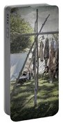The Fur Trader's Camp 1812 Portable Battery Charger