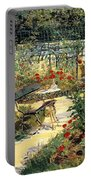 The Garden Of Manet Portable Battery Charger