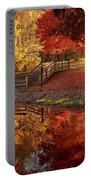 The Glory Of Autumn Portable Battery Charger