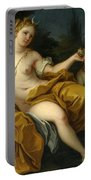 The Goddess Diana Portable Battery Charger