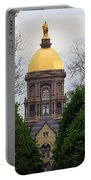The Golden Dome Portable Battery Charger