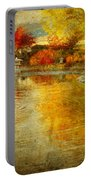 The Golden Dreams Of Autumn Portable Battery Charger