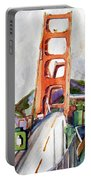 The Golden Gate Bridge San Francisco Portable Battery Charger