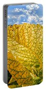 The Golden Leaf Portable Battery Charger