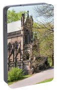 The Gothic Temple In Spring Grove Cemetery Portable Battery Charger