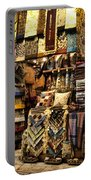 The Grand Bazaar In Istanbul Turkey Portable Battery Charger by David Smith
