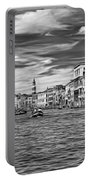 The Grand Canal - Paint Bw Portable Battery Charger