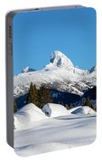 The  Grand Tetons From Alta Wyoming Portable Battery Charger