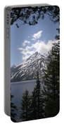 The Grand Tetons Lake Portable Battery Charger