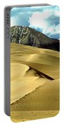The Great Colorado Sand Dunes Color Print Portable Battery Charger