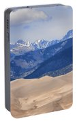 The Great Sand Dunes Color Print 45 Portable Battery Charger