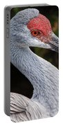 The Greater Sandhill Crane Portable Battery Charger