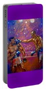 the Greatest  Muhammed Ali vs Jack Johnson Portable Battery Charger
