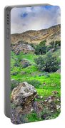 The Greening Of The Las Llajas Trail  Portable Battery Charger
