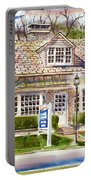 The Greystone Inn In Brigadoon Portable Battery Charger