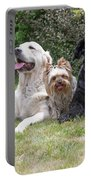 The Group Of Dogs Portable Battery Charger