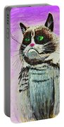 The Grumpy Cat From The Internets Portable Battery Charger
