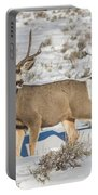 The Gtnp Mule Deer Buck Portable Battery Charger