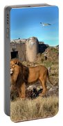 The Guard Of The Ruins 22 Portable Battery Charger