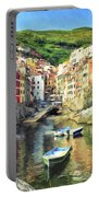 The Harbor At Rio Maggiore Portable Battery Charger