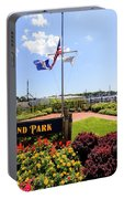 The Harbor Island Park In Mamarineck, Westchester County Portable Battery Charger