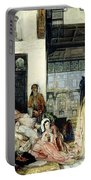 The Harem Portable Battery Charger by John Frederick Lewis