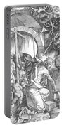 The Harrowing Of Hell Or Christ In Limbo From The Large Passion 1510 Portable Battery Charger