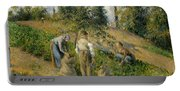 The Harvest, Pontoise, 1881  Portable Battery Charger
