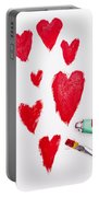 The Heart Of Love Portable Battery Charger