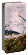 The Heron And The Egret Portable Battery Charger