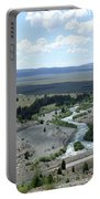 The Highway And The River Portable Battery Charger