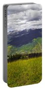 The Hills Are Alive In Vail Portable Battery Charger