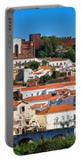 The Historic Town Of Silves In Portugal Portable Battery Charger