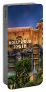 The Hollywood Tower Hotel Disneyland Portable Battery Charger