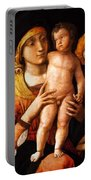The Holy Family With St Elizabeth And St John The Baptist 1505 Portable Battery Charger