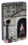 The Horse Guard At Whitehall Portable Battery Charger