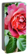 The Hot Cocoa Red Rose Portable Battery Charger