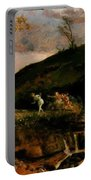 The Hunt Of Diana 1896 Portable Battery Charger
