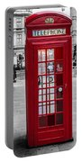 The Iconic London Phonebox Portable Battery Charger