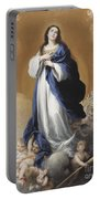 The Immaculate Conception  Portable Battery Charger by Bartolome Esteban Murillo