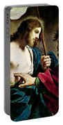 The Incredulity Of Saint Thomas Portable Battery Charger