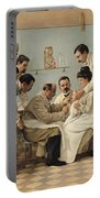 The Insertion Of A Tube Portable Battery Charger by Georges Chicotot