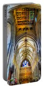 The Interior Of The Southwark Cathedral  Portable Battery Charger