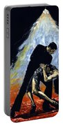 The Intoxication Of Tango Portable Battery Charger by Richard Young