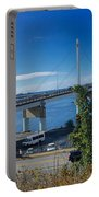 The John O'connell Bridge Is A Cable-stayed Bridge Over The Sitk Portable Battery Charger