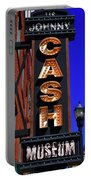 The Johnny Cash Museum - Nashville Portable Battery Charger