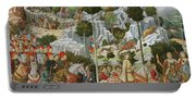 The Journey Of The Magi To Bethlehem Portable Battery Charger