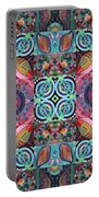 The Joy Of Design Mandala Series Puzzle 7 Arrangement 1 Portable Battery Charger