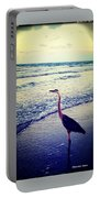 The Joy Of Ocean And Bird Portable Battery Charger